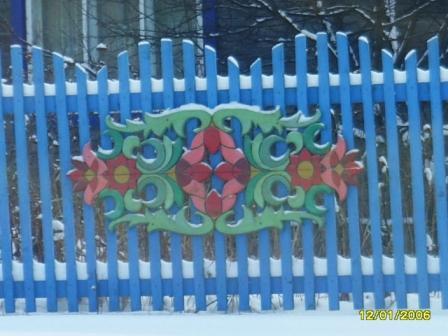 Рисунок на заборе из штакетника фото